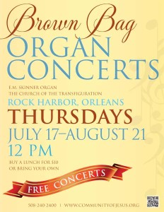 Brown Bag Organ Concerts @ Church of the Transfiguration | Orleans | Massachusetts | United States